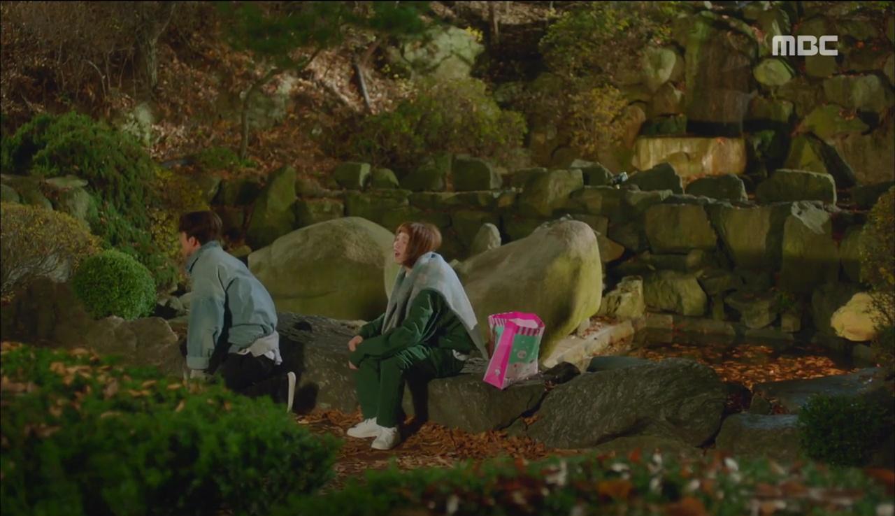 """""""Tiên Nữ Cử Tạ"""": Ngỡ được Lee Sung Kyung hôn, Nam Joo Hyuk đưa mặt hưởng thụ và nhận cái kết bất ngờ - Ảnh 8."""
