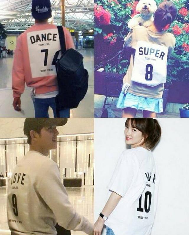 Tất tần tật những lần Song Joong Ki và Song Hye Kyo vô tình mặc đồ giống nhau - Ảnh 9.