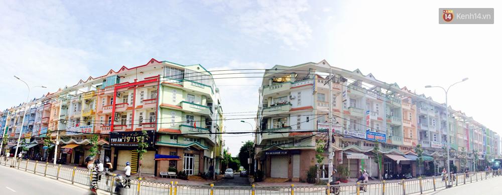 Những khu phố đồng phục thú vị ở Sài Gòn với dãy nhà giống hệt nhau - Ảnh 1.