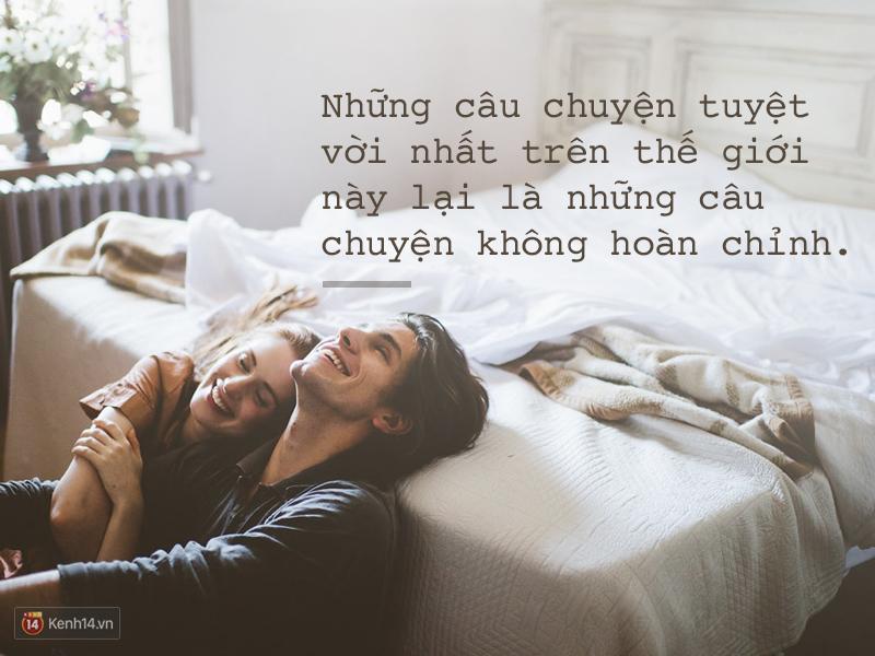 Không phải mọi tình yêu đẹp đều tồn tại mãi mãi. Bởi đó là cuộc