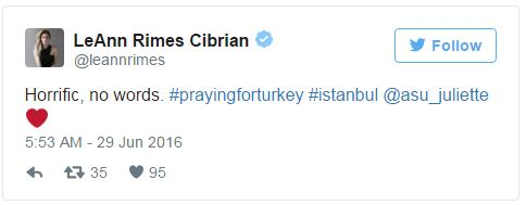 Hàng loạt sao thế giới kinh hoàng vì vụ khủng bố dã man ở Thổ Nhĩ Kỳ - Ảnh 10.