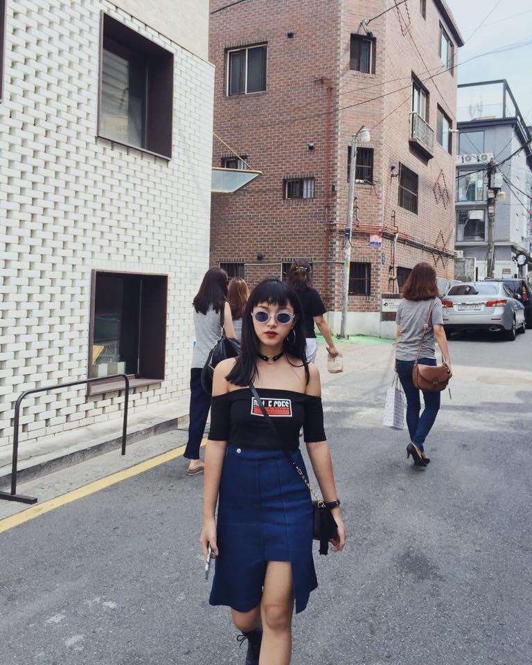 Châu Bùi và bạn trai khoe ảnh du lịch siêu chất tại Hàn Quốc - Ảnh 1.
