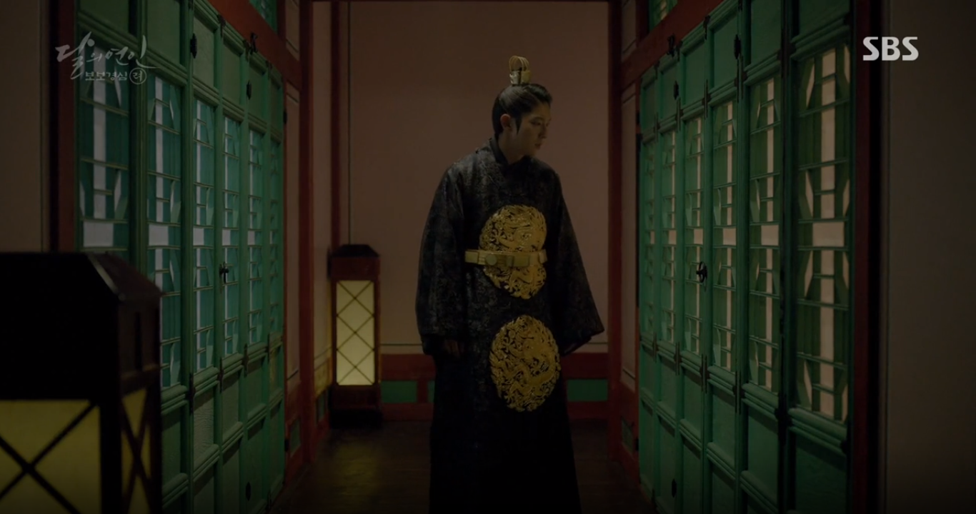 """""""Moon Lovers"""": Lee Jun Ki vừa được IU phong vua đã lập hậu - Ảnh 16."""