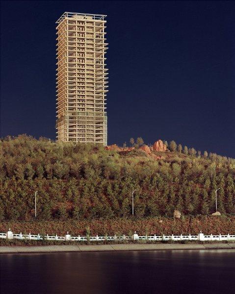 """12 bức ảnh về những """"thành phố ma"""" tại Trung Quốc - Ảnh 11."""
