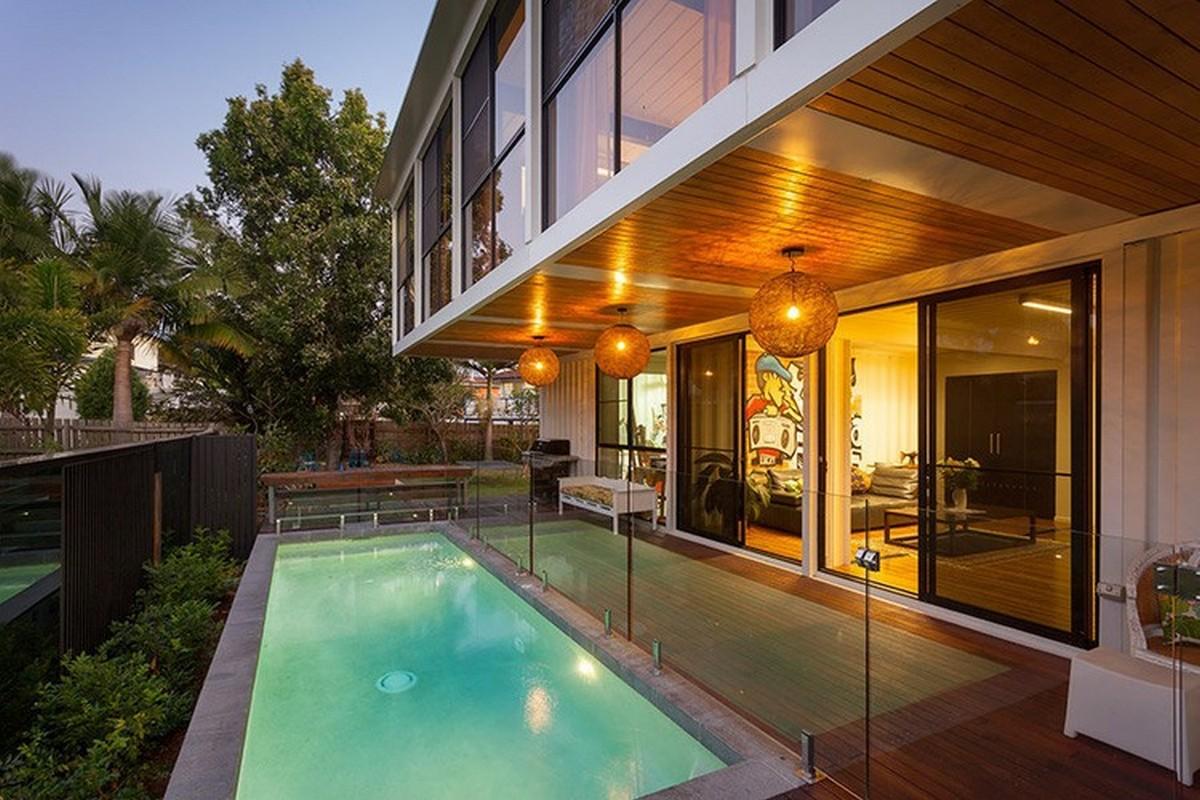 Chiêm ngưỡng 20 ngôi nhà đẹp như mơ làm từ container hàng hóa - Ảnh 10.