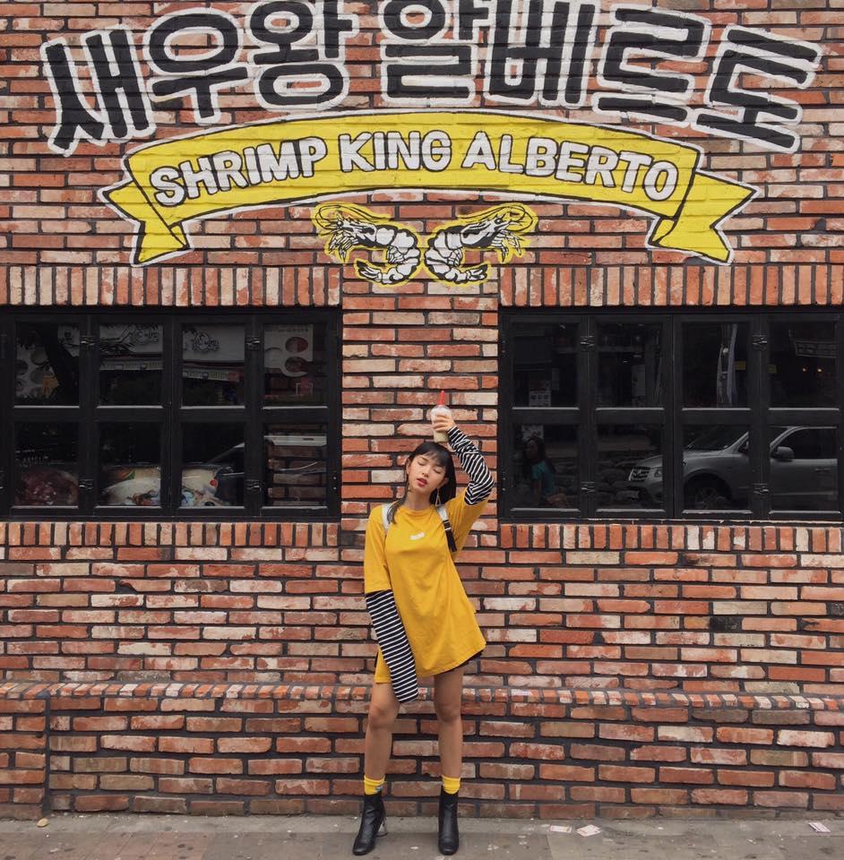 Châu Bùi và bạn trai khoe ảnh du lịch siêu chất tại Hàn Quốc - Ảnh 2.