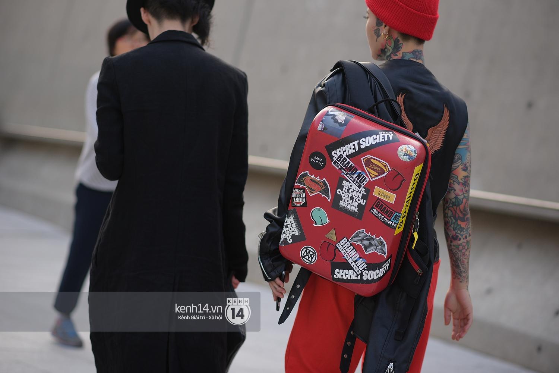 Hoàng Ku, Châu Bùi, Min xuất hiện cực nét cùng fashionista Hàn tại Tuần lễ thời trang ngày 3 - Ảnh 9.