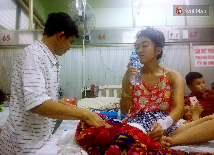 Nữ sinh lớp 10 bị cưa chân vì bệnh viện tắc trách: Mẹ ơi đừng lo, con vẫn còn một chân đây... - Ảnh 3.