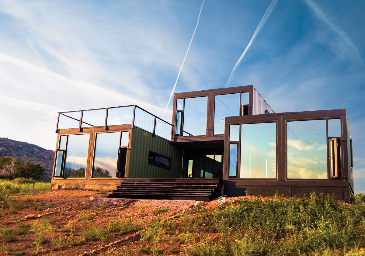 Chiêm ngưỡng 20 ngôi nhà đẹp như mơ làm từ container hàng hóa - Ảnh 12.