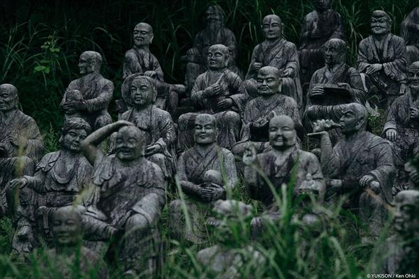 Nỗi ám ảnh từ những bức tượng biết đi tại công viên ma Nhật Bản - Ảnh 13.