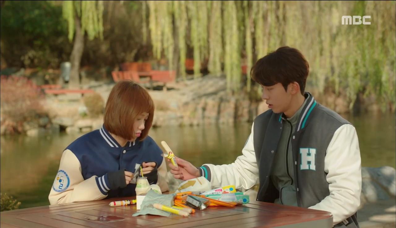 Tiên Nữ Cử Tạ: Sau tất cả, Lee Sung Kyung bật khóc nức nở trên vai Nam Joo Hyuk - Ảnh 14.