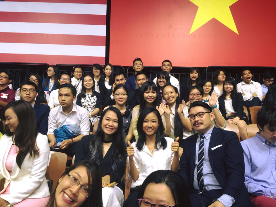 Khánh Thi, Suboi hào hứng tham gia buổi nói chuyện của Tổng thống Obama - Ảnh 4.