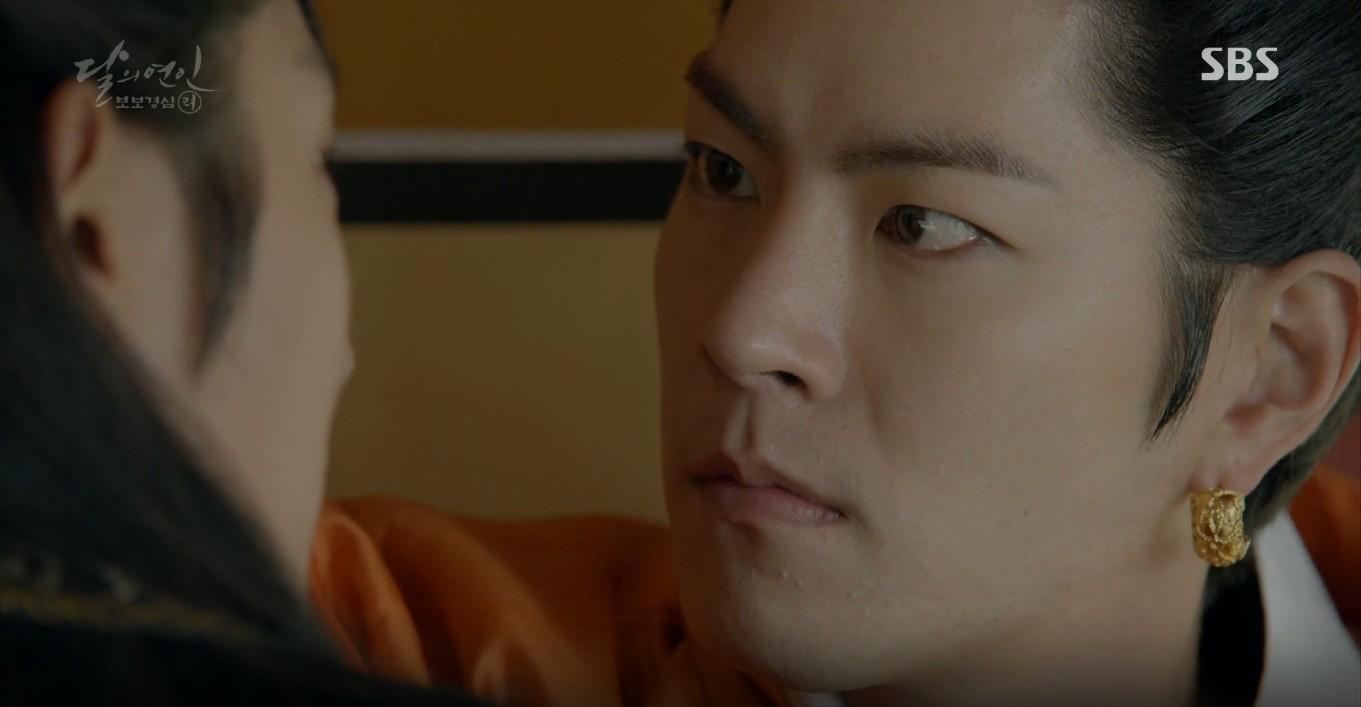 Moon Lovers: Đánh nhau chán chê, hoàng tử Baekhyun lại đột nhiên phải lòng IU - Ảnh 26.