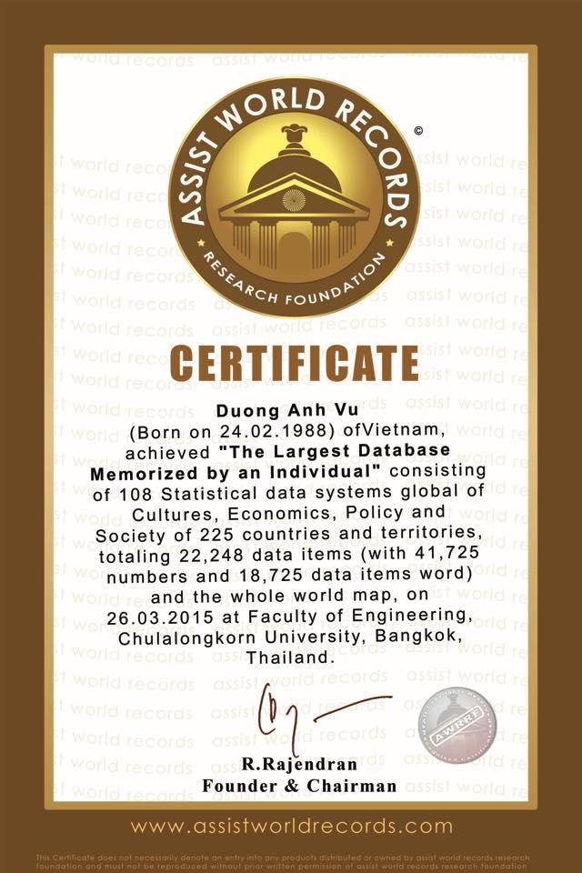 Chàng trai có khả năng nhớ được 20.000 số Pi sau số 3.14 vừa lập thêm 4 kỷ lục thế giới về trí nhớ - Ảnh 6.