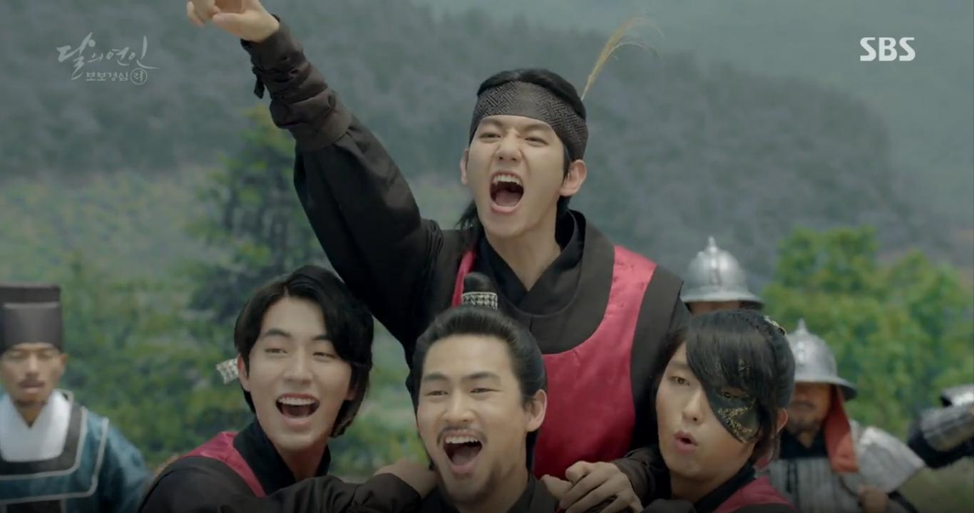 Moon Lovers: Tứ hoàng tử Lee Jun Ki chính thức hạ chiếc mặt nạ trước mặt IU - Ảnh 16.
