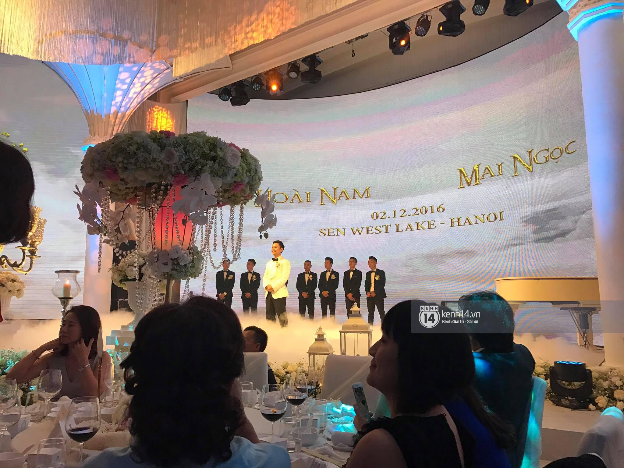 Đám cưới MC Mai Ngọc: Không gian lộng lẫy, cầu kỳ, xứng đáng là đám cưới sang chảnh nhất Hà Nội hôm nay - Ảnh 15.