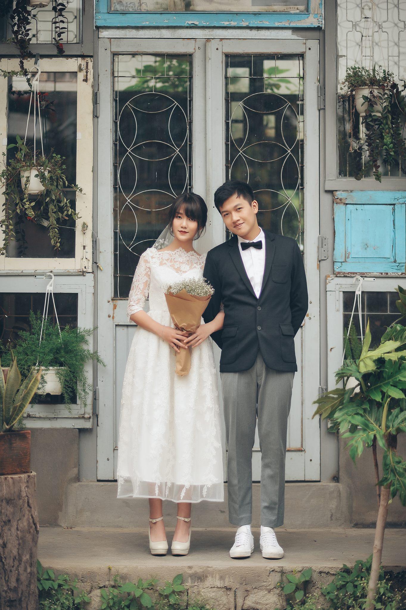 Trọn bộ ảnh cưới giản dị nhưng ngập tràn hạnh phúc của MC Trần Ngọc và 9x xinh đẹp - Ảnh 16.