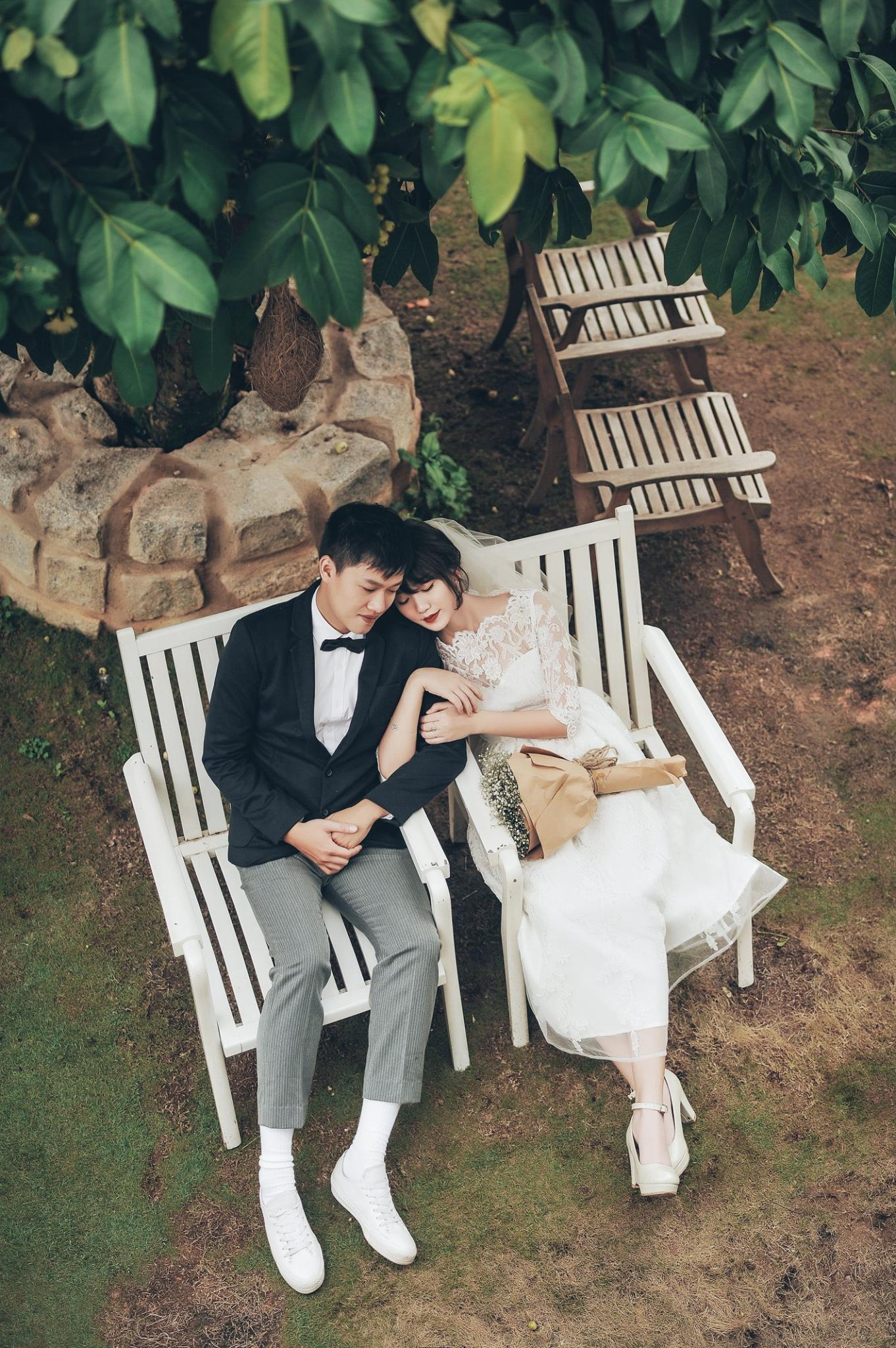 Trọn bộ ảnh cưới giản dị nhưng ngập tràn hạnh phúc của MC Trần Ngọc và 9x xinh đẹp - Ảnh 21.