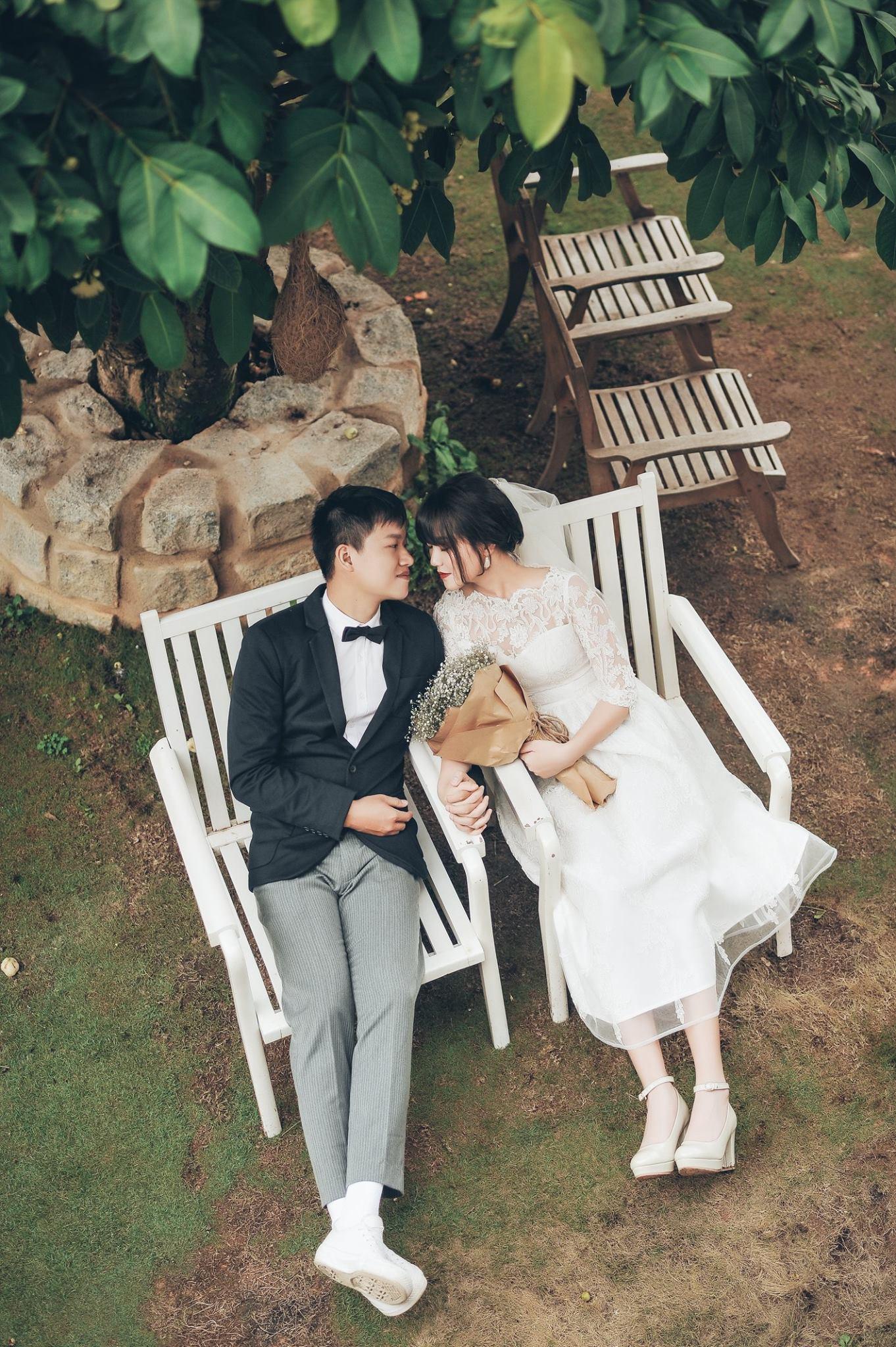 Trọn bộ ảnh cưới giản dị nhưng ngập tràn hạnh phúc của MC Trần Ngọc và 9x xinh đẹp - Ảnh 22.