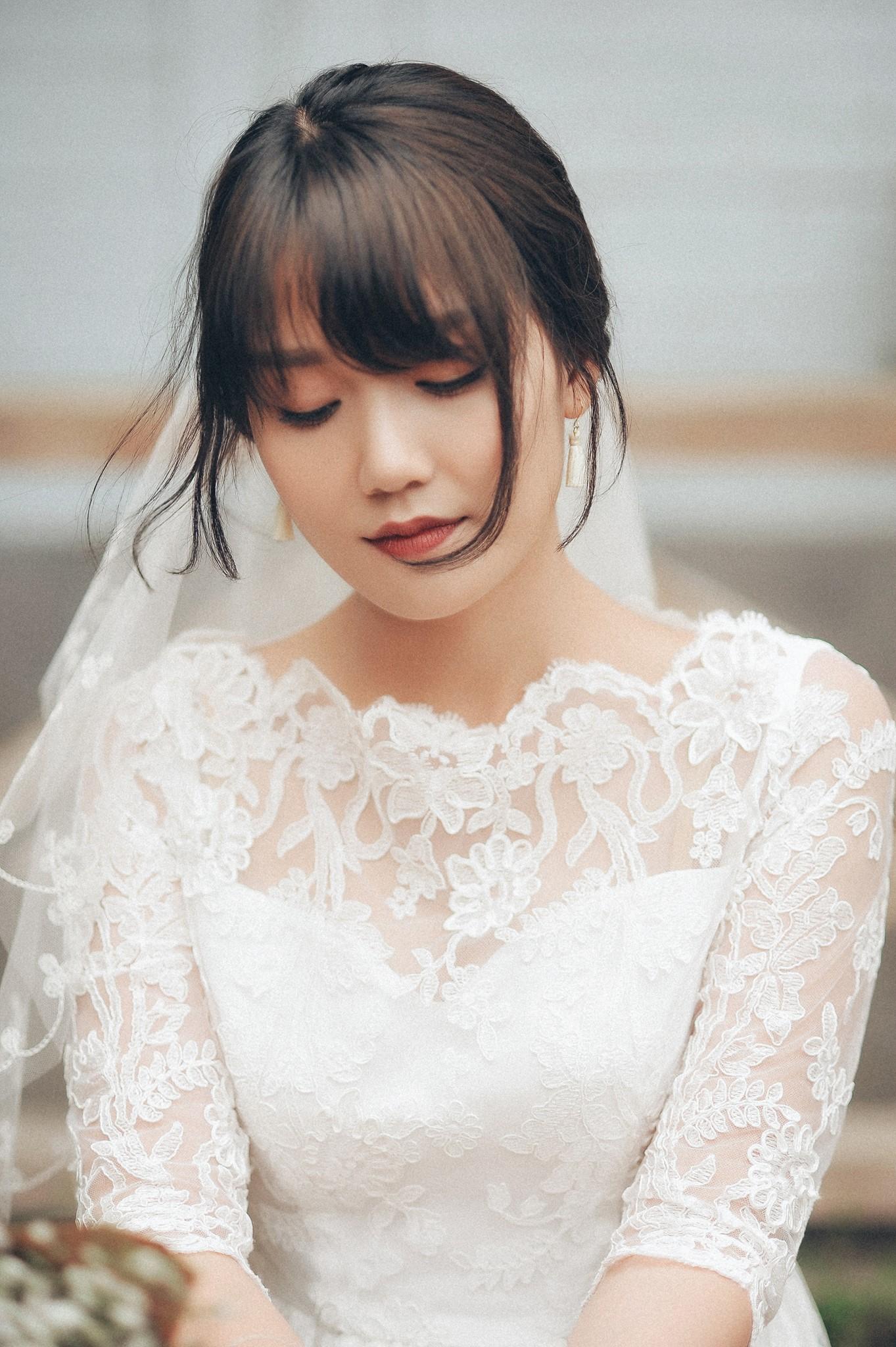 Trọn bộ ảnh cưới giản dị nhưng ngập tràn hạnh phúc của MC Trần Ngọc và 9x xinh đẹp - Ảnh 5.
