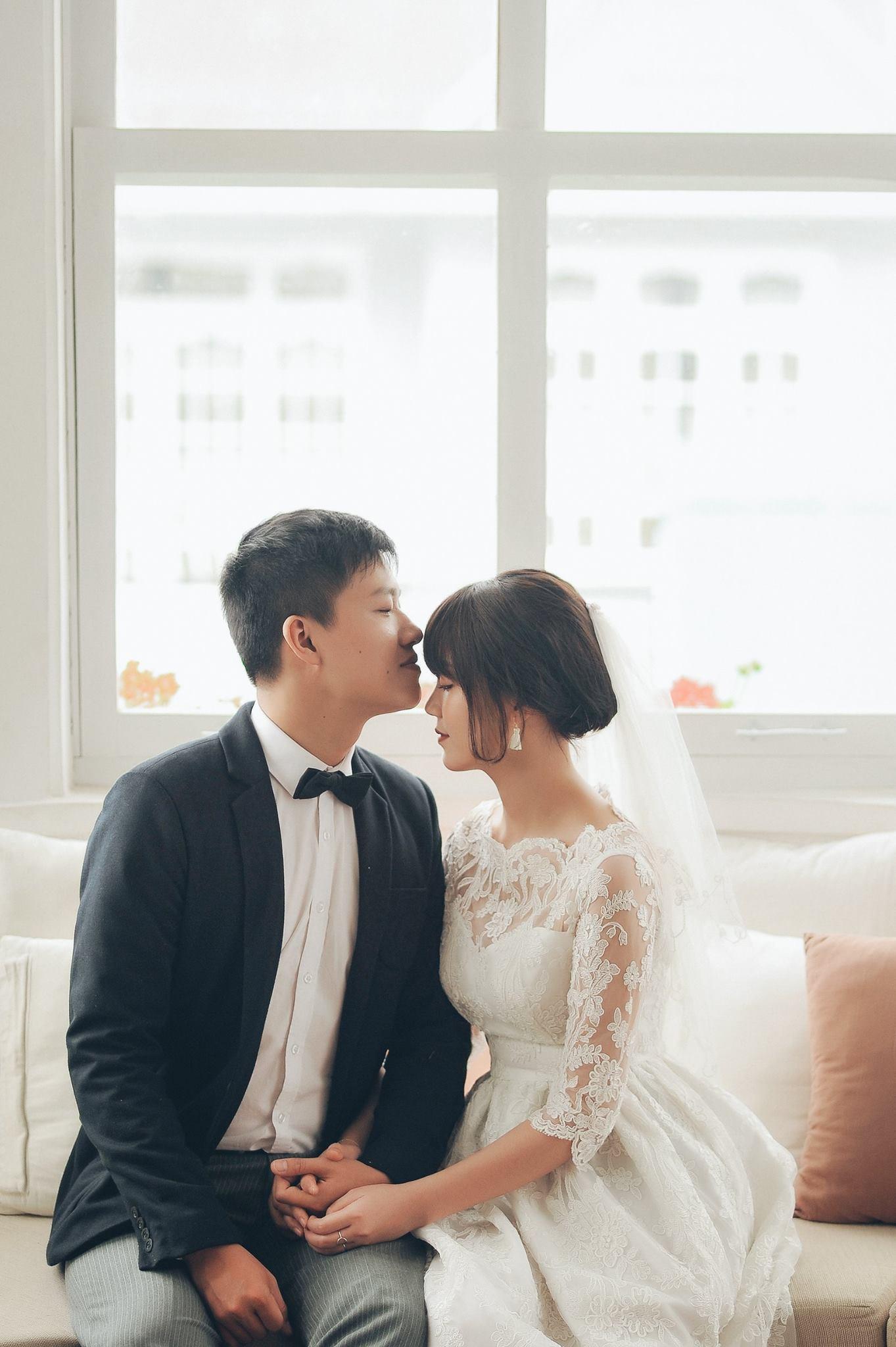 Trọn bộ ảnh cưới giản dị nhưng ngập tràn hạnh phúc của MC Trần Ngọc và 9x xinh đẹp - Ảnh 14.