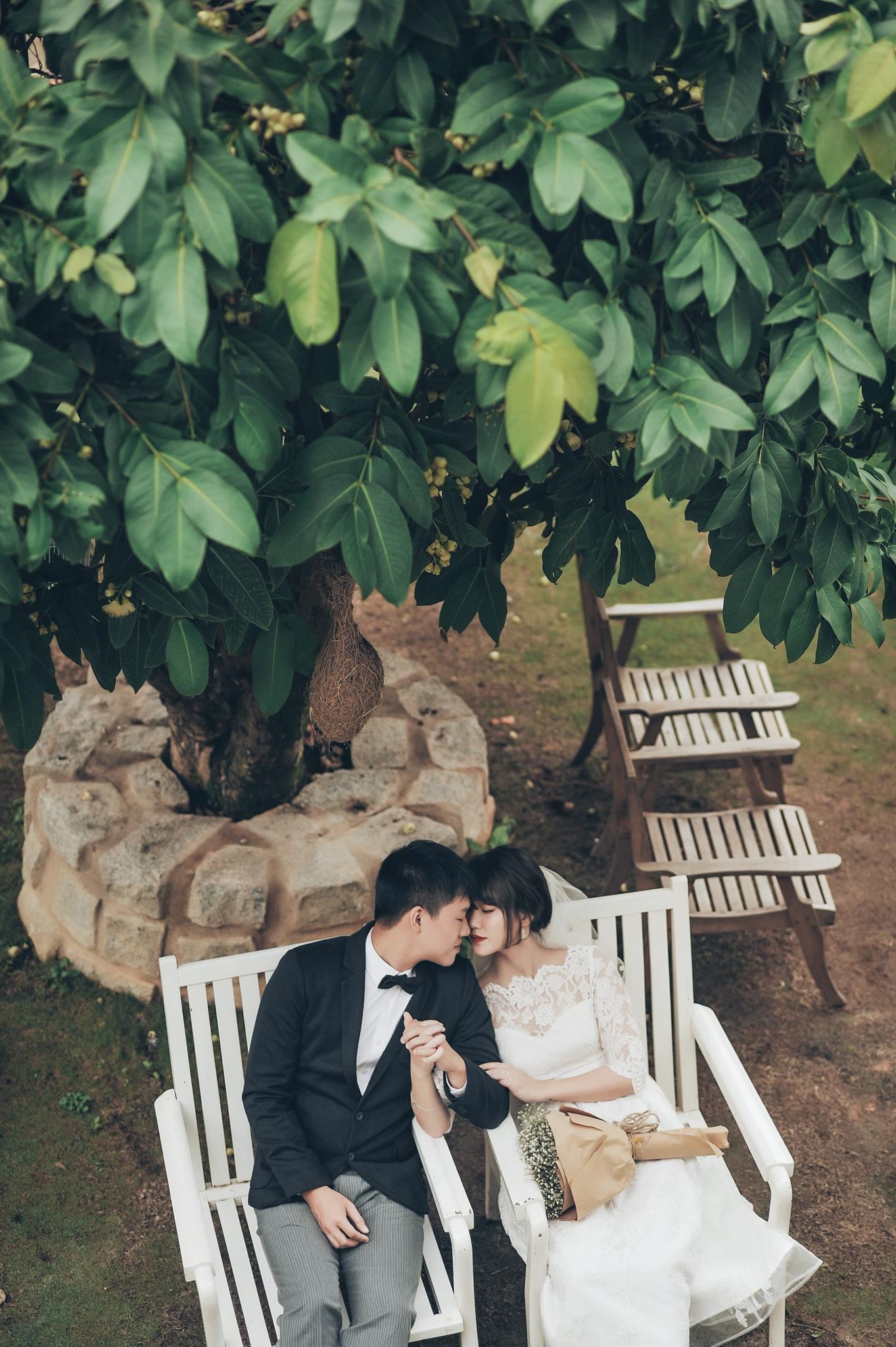 Trọn bộ ảnh cưới giản dị nhưng ngập tràn hạnh phúc của MC Trần Ngọc và 9x xinh đẹp - Ảnh 12.
