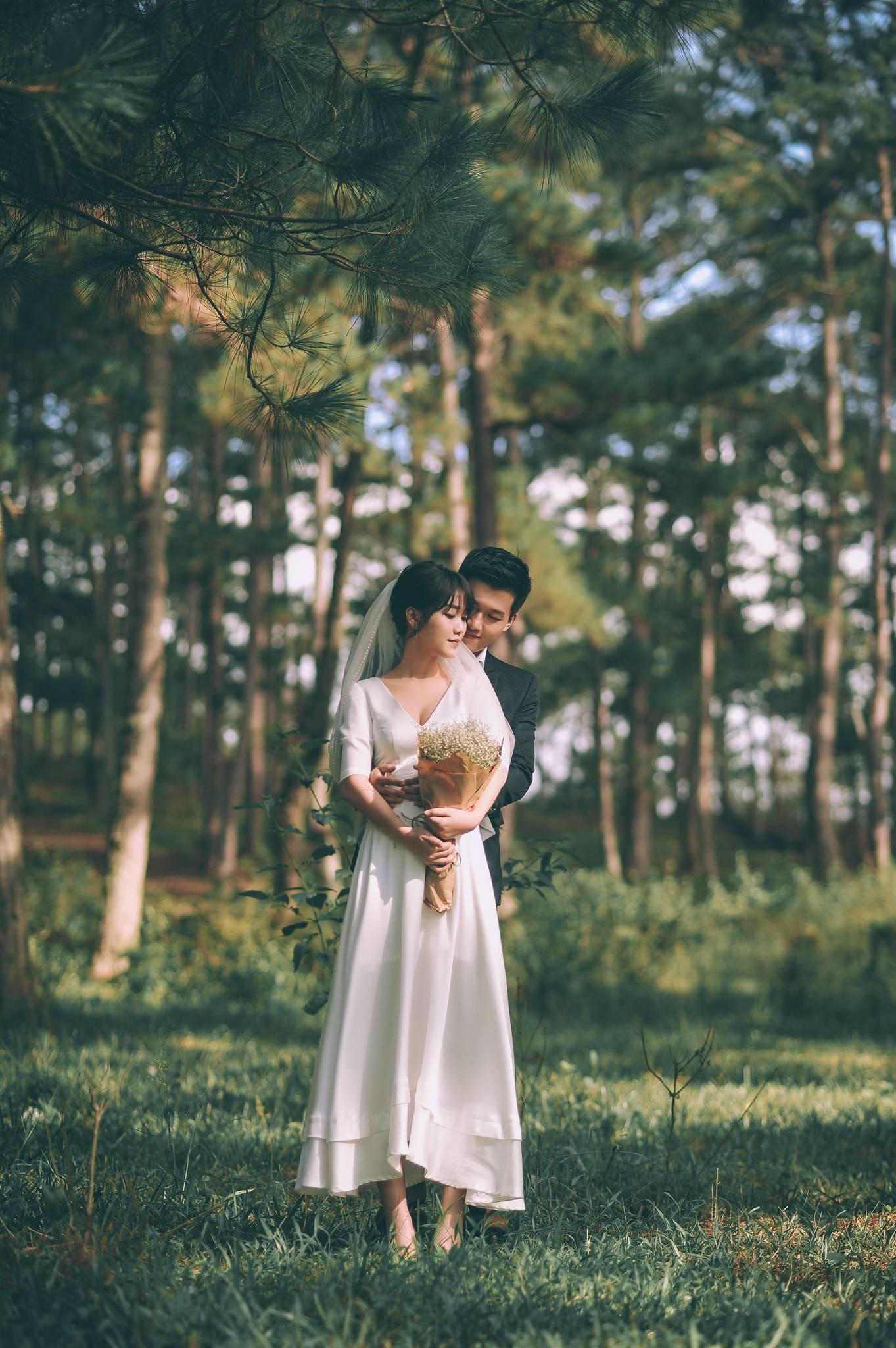 Trọn bộ ảnh cưới giản dị nhưng ngập tràn hạnh phúc của MC Trần Ngọc và 9x xinh đẹp - Ảnh 7.