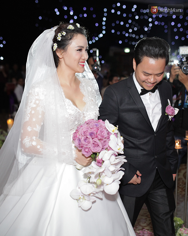 Dàn sao nô nức tham dự lễ cưới của Trang Nhung - Ảnh 16.