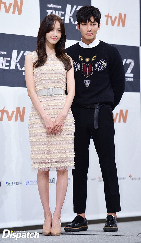 """Yoona và Ji Chang Wook trong """"The K2"""" thân thiết dự họp báo 6"""