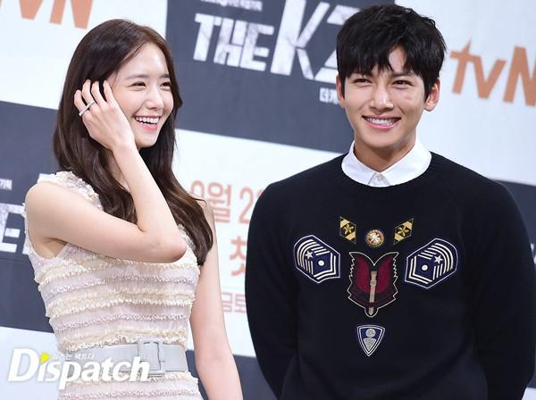 """Yoona và Ji Chang Wook trong """"The K2"""" thân thiết dự họp báo 10"""