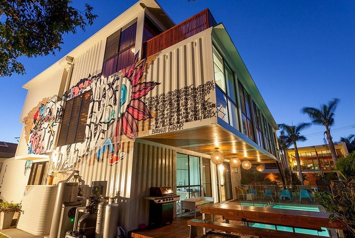 Chiêm ngưỡng 20 ngôi nhà đẹp như mơ làm từ container hàng hóa - Ảnh 17.
