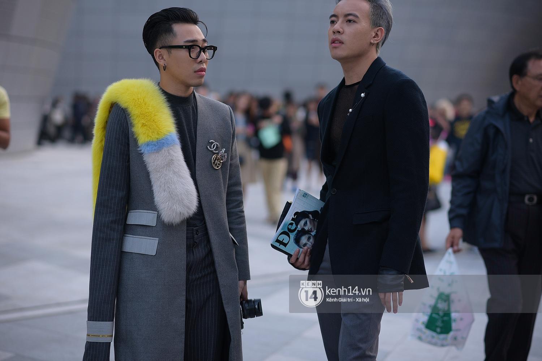 Hoàng Ku, Châu Bùi, Min xuất hiện cực nét cùng fashionista Hàn tại Tuần lễ thời trang ngày 3 - Ảnh 19.