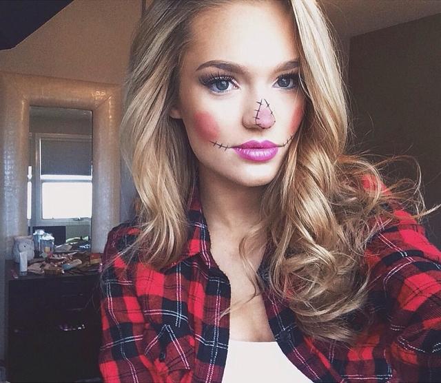 3 kiểu makeup Halloween vừa xinh vừa dễ để bạn thực hiện vào phút chót - Ảnh 1.
