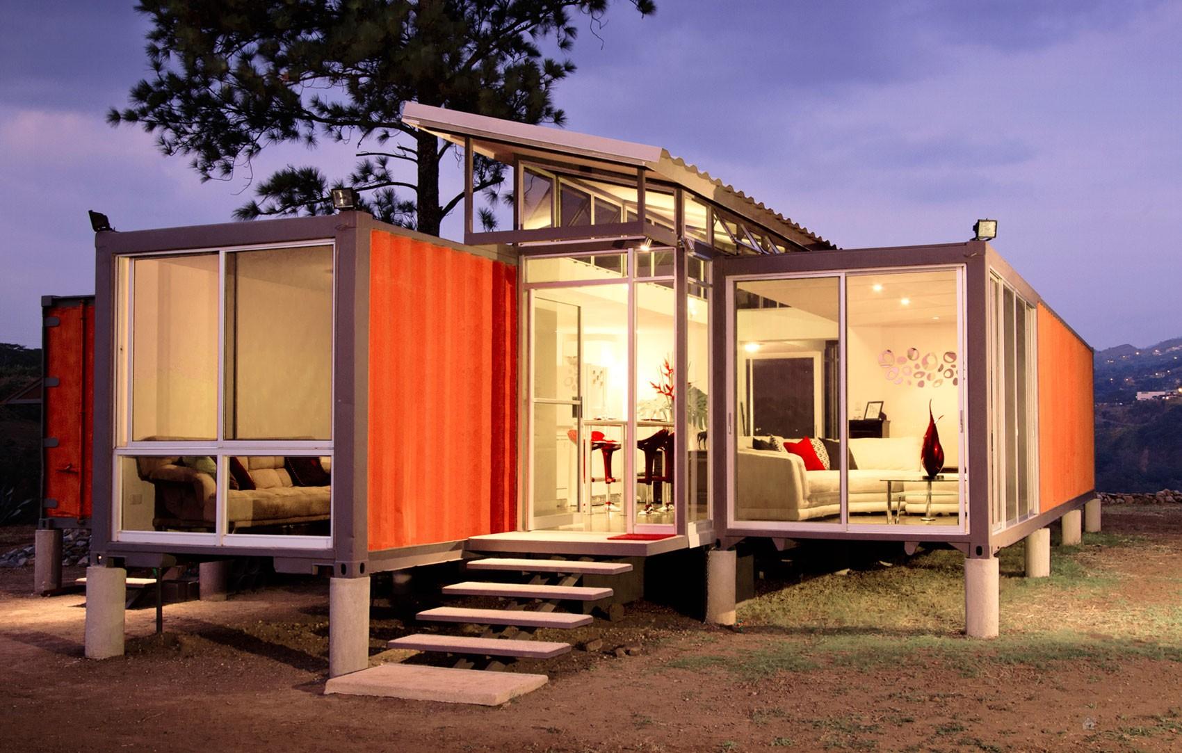 Chiêm ngưỡng 20 ngôi nhà đẹp như mơ làm từ container hàng hóa - Ảnh 1.