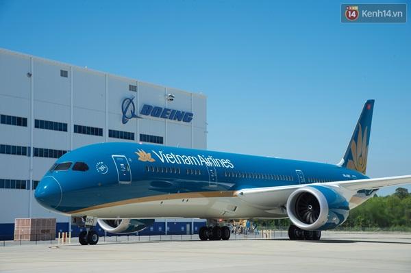 Hình Ảnh Đầu Tiên Về Chiếc Máy Bay Boeing 787 Của Vna Vừa Có Màn Trình