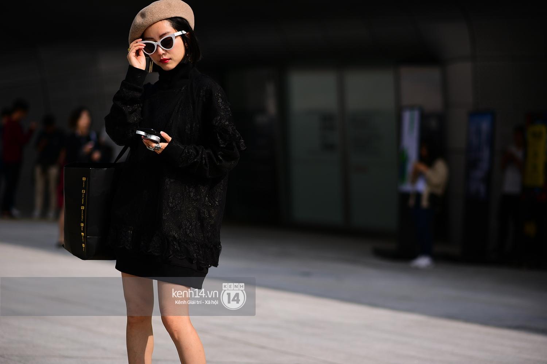 Hoàng Ku, Châu Bùi, Min xuất hiện cực nét cùng fashionista Hàn tại Tuần lễ thời trang ngày 3 - Ảnh 2.