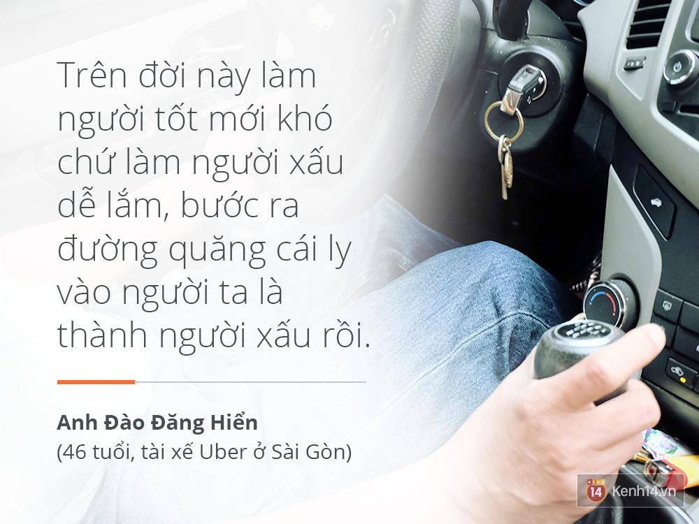 Anh lái taxi vui tính nhất Sài Gòn và chuyện Sống trên đời mỗi người nhường nhau một tí, thì chuyện gì cũng giải quyết - Ảnh 8.