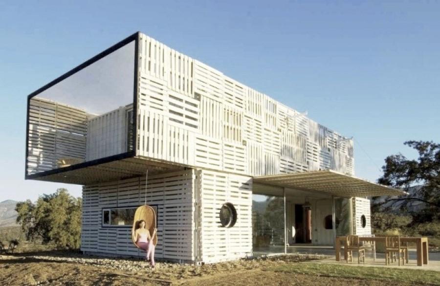 Chiêm ngưỡng 20 ngôi nhà đẹp như mơ làm từ container hàng hóa - Ảnh 19.