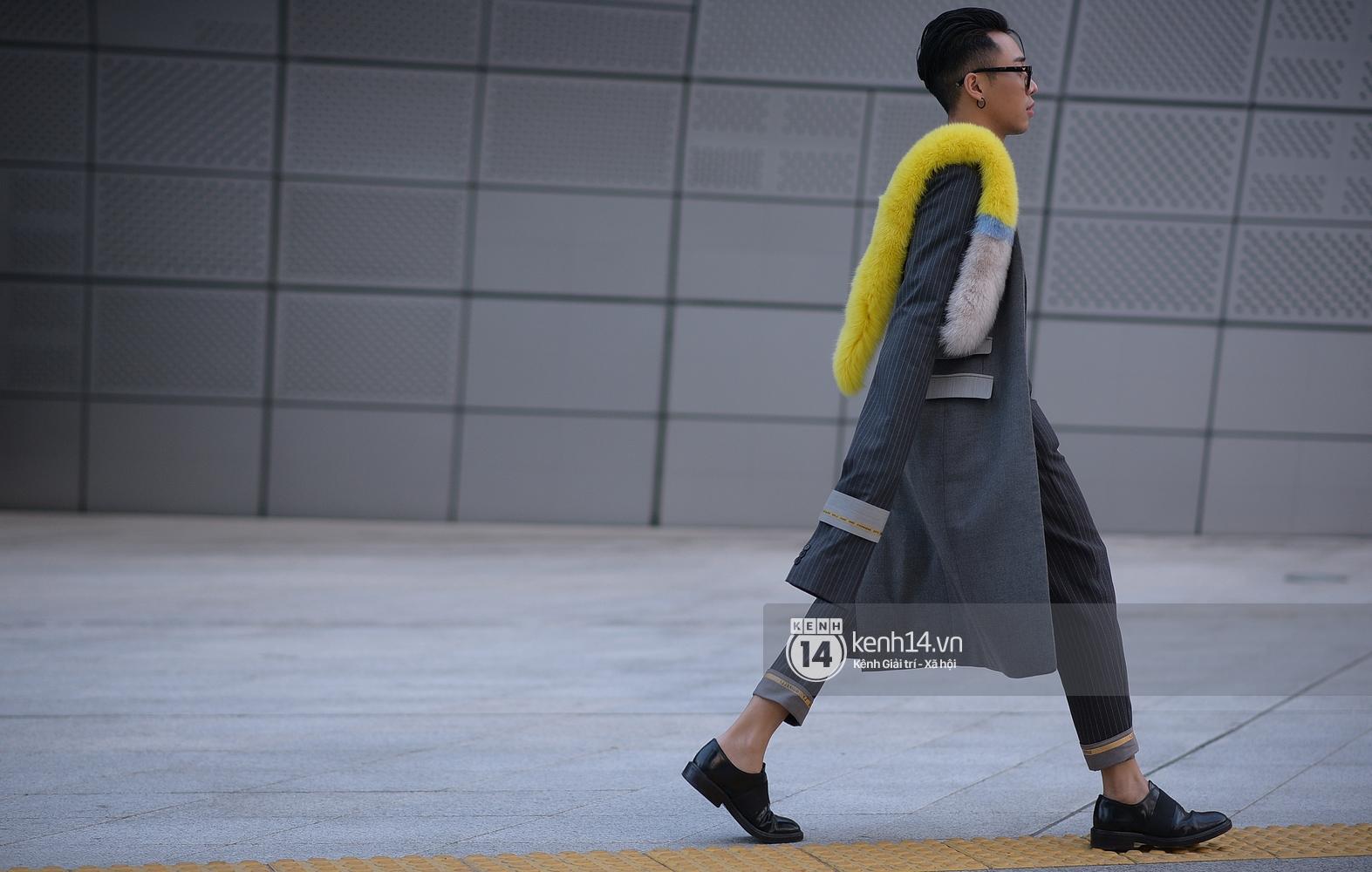 Hoàng Ku, Châu Bùi, Min xuất hiện cực nét cùng fashionista Hàn tại Tuần lễ thời trang ngày 3 - Ảnh 20.