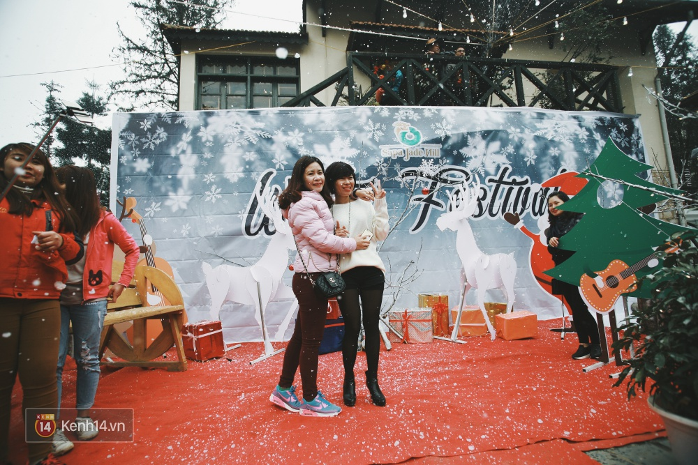 Có ai vừa tận hưởng Giáng sinh tại Lễ hội Tuyết lớn nhất Sapa 2016 không? - Ảnh 4.