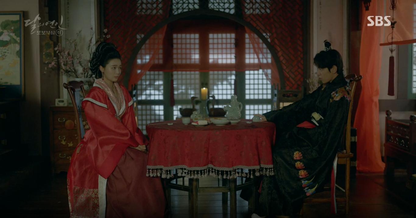 Moon Lovers: Hoàng tử Baekhyun sống chết đòi tự tử để không phải thành thân - Ảnh 1.