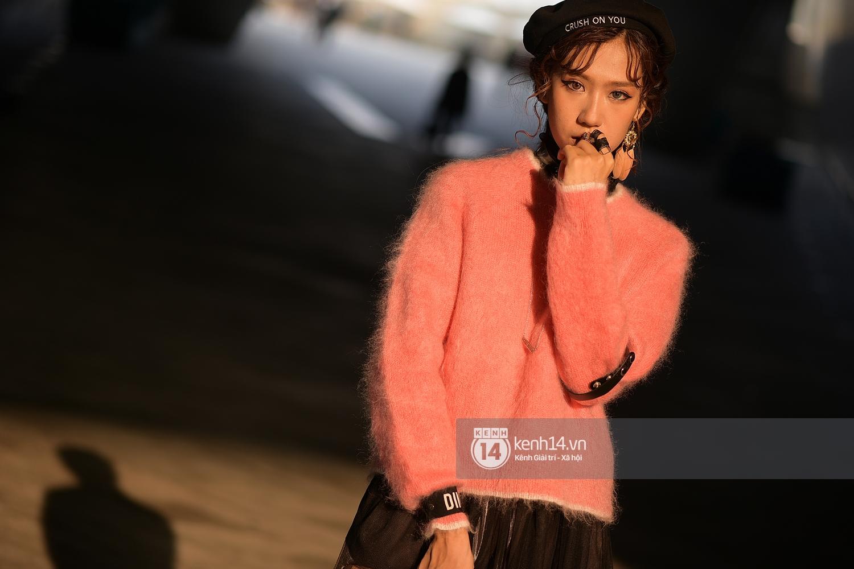 Hoàng Ku, Châu Bùi, Min xuất hiện cực nét cùng fashionista Hàn tại Tuần lễ thời trang ngày 3 - Ảnh 23.