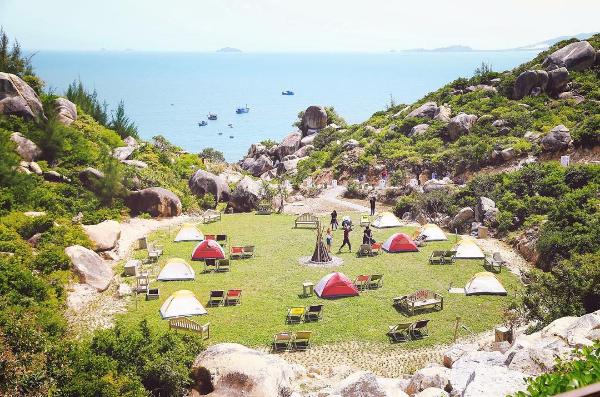 Có gì ở khu dã ngoại Trung Lương: Điểm đến được check in nhiều nhất Bình Định hè này - Ảnh 6.