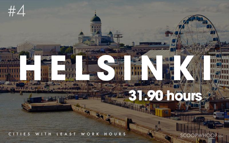 10 thành phố có số giờ làm việc ít nhất thế giới - Ảnh 7.