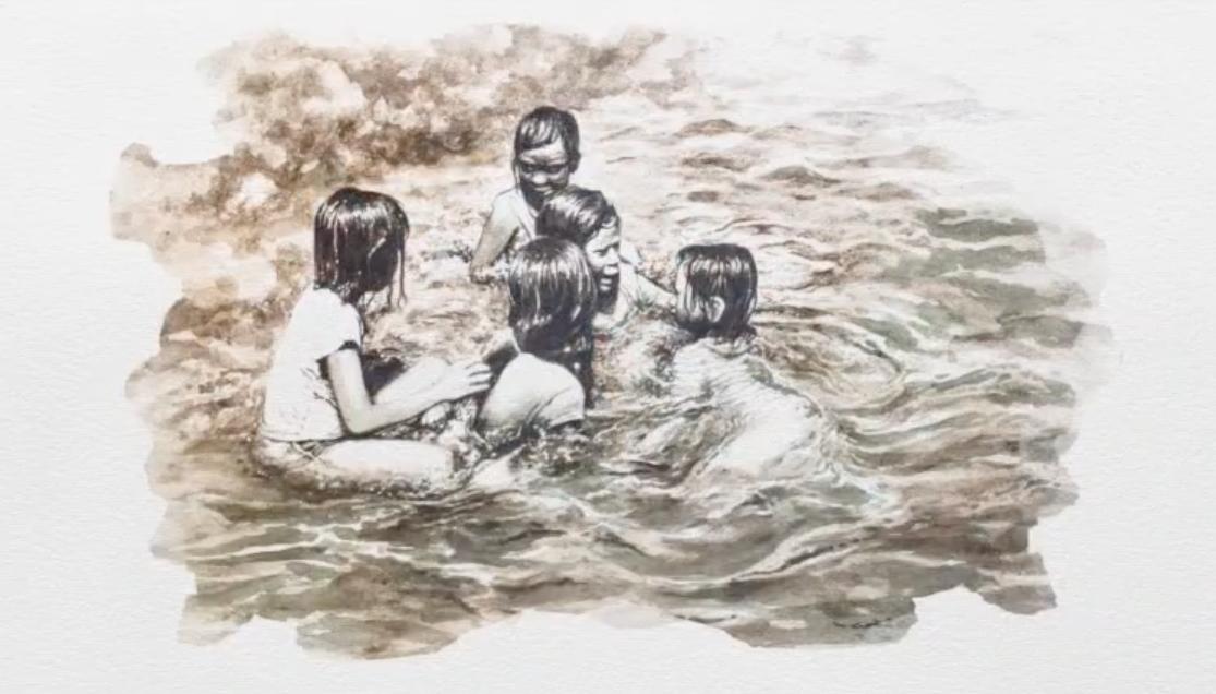 Từ nước thải hóa thành các tác phẩm hội họa ấn tượng - Ảnh 3.