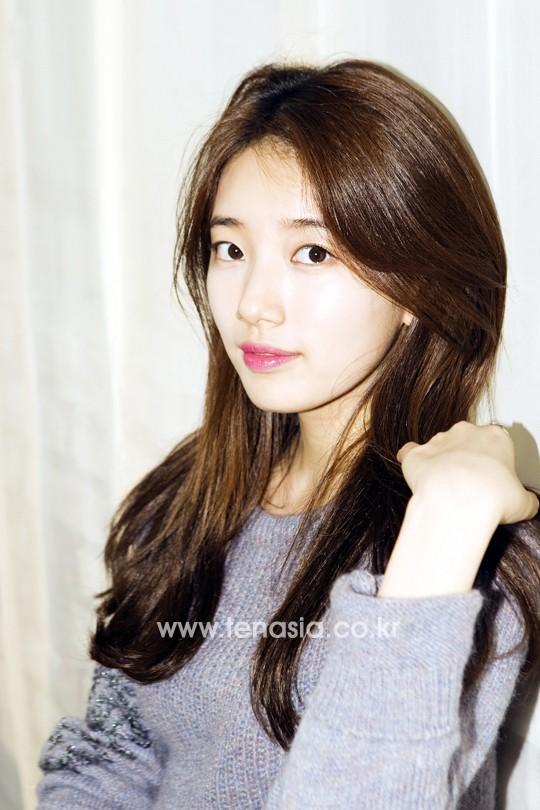 Con gái Hàn đổ xô cắt tóc tỉa layer giống Suzy - Ảnh 1.