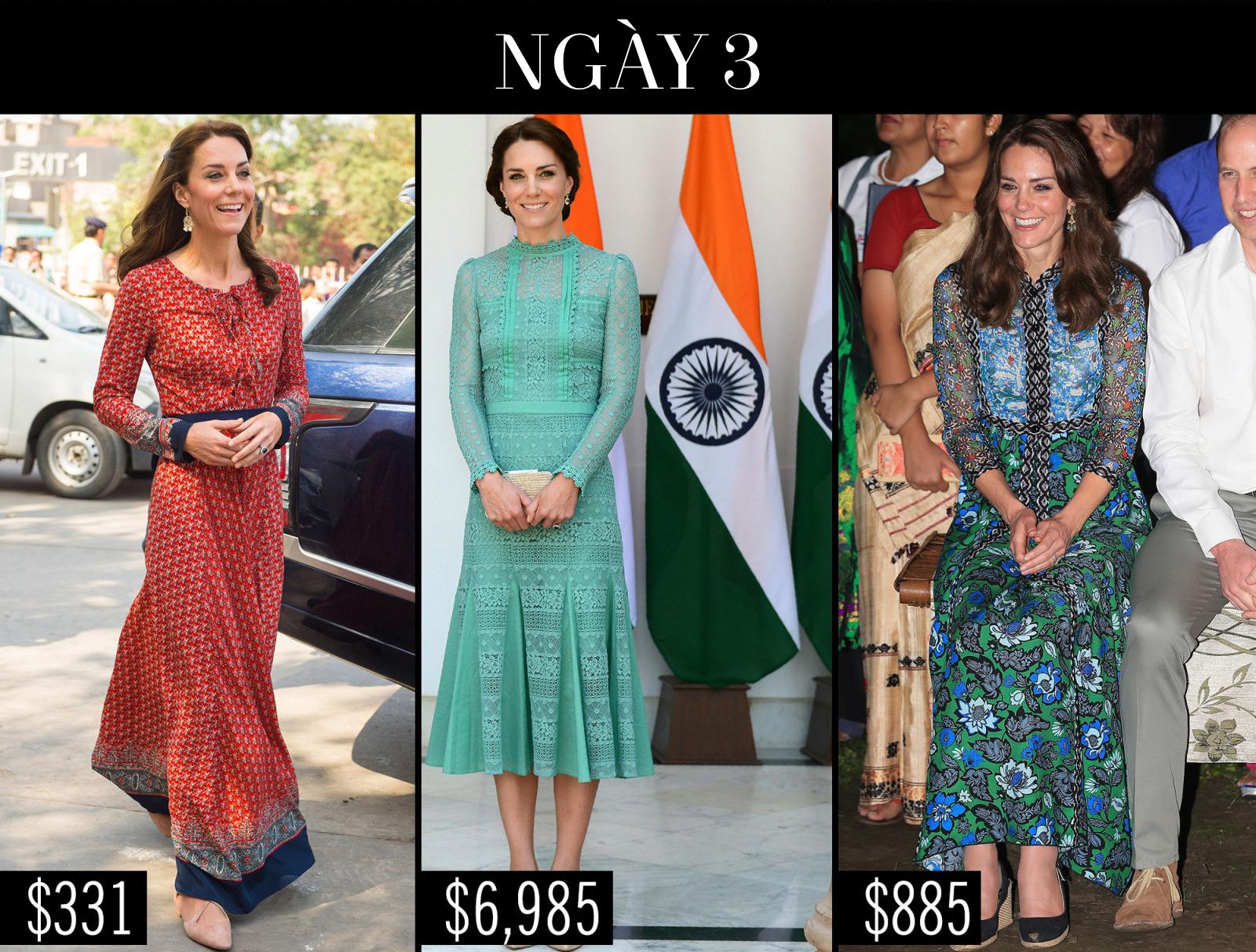 Công nương Kate chi hơn 1 tỉ VNĐ cho 17 bộ đồ trong tuần công du - Ảnh 8.