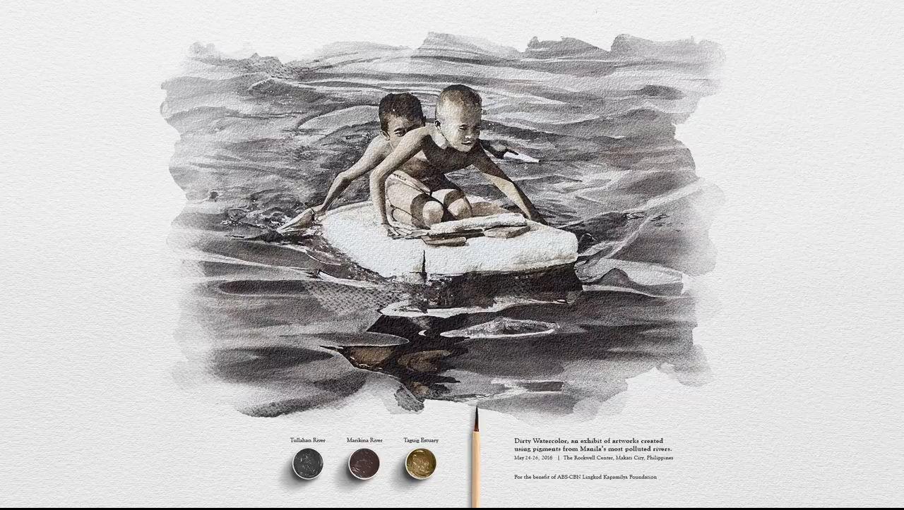 Từ nước thải hóa thành các tác phẩm hội họa ấn tượng - Ảnh 4.