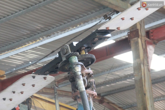 """Thợ cơ khí xứ Nghệ chế tạo """"máy bay trực thăng"""" từ đống đổ nát để chữa cháy rừng - Ảnh 3."""