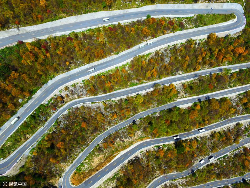 Con đường lắt léo nhất Trung Quốc: Thách bạn đi hết 72 khúc ngoặt này mà không chóng mặt - Ảnh 4.